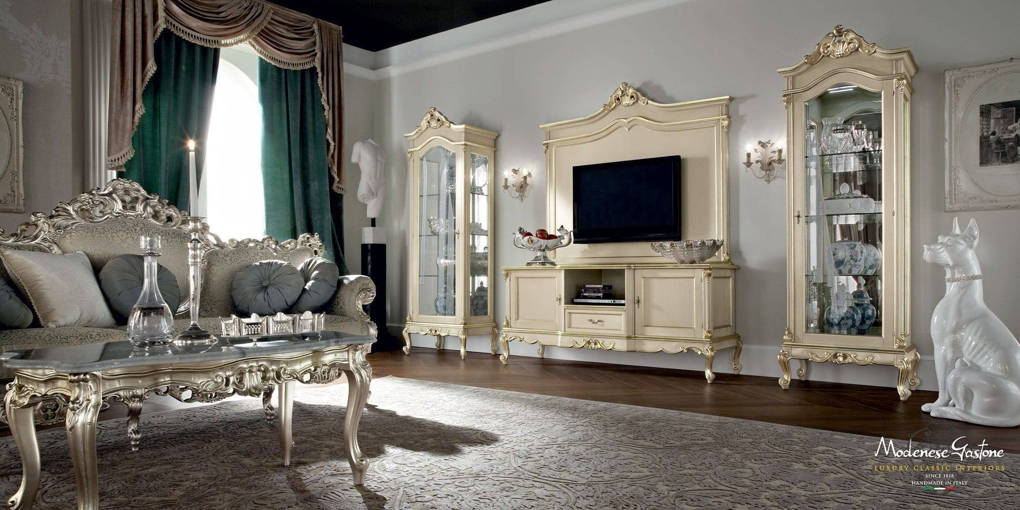 Classic Tv Cabinet / Wooden - .casanova - Modenese Gastone Luxury with regard to Classic Tv Cabinets (Image 6 of 15)