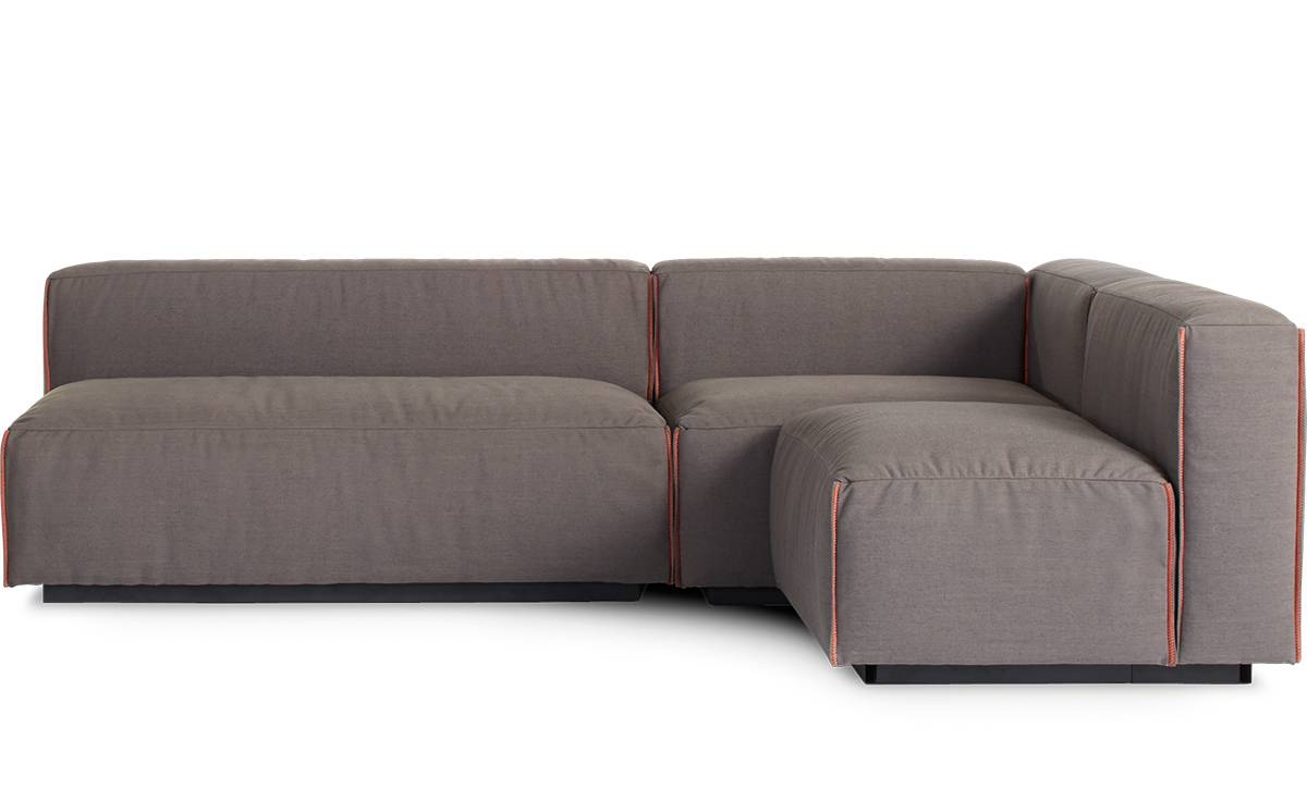 Cleon Medium Sectional Sofa - Hivemodern with Blu Dot Sofas (Image 5 of 15)