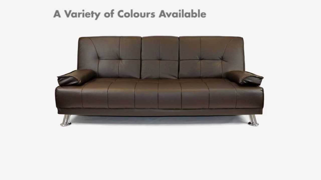 Click Clack Sofa Beds - Cheap Sofa Beds, Sofa Beds Uk, Leather inside Clic Clac Sofa Beds (Image 4 of 15)