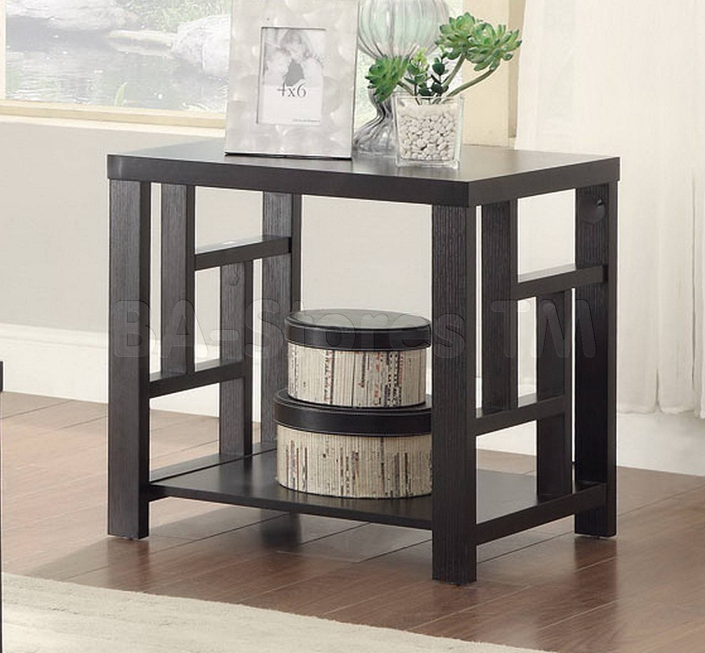 Coffee, Side & End Tables: Asian Inspired End Table Coa-703537/6 pertaining to Asian Sofa Tables (Image 8 of 15)