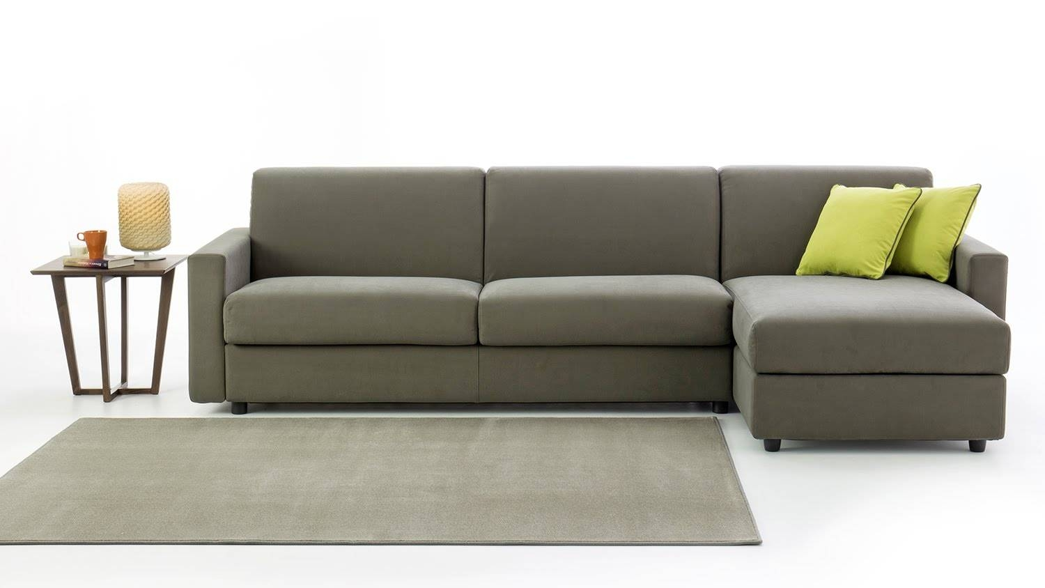 Colin Sofa Bed With Storage Chaise Longue - Youtube pertaining to Chaise Sofa Beds With Storage (Image 2 of 15)