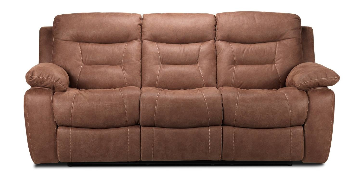 Collins Power Reclining Sofa - Hazelnut | Leon's pertaining to Collins Sofas (Image 2 of 15)
