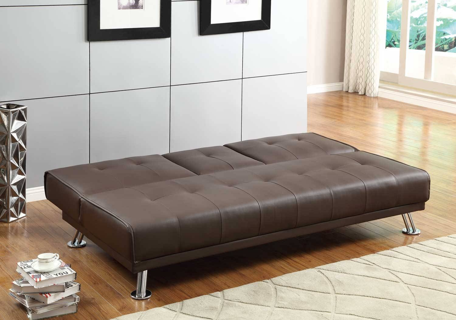 Comfy Click Clack Sofa Bed With Storage — Home Design Stylinghome pertaining to Clic Clac Sofa Beds (Image 5 of 15)