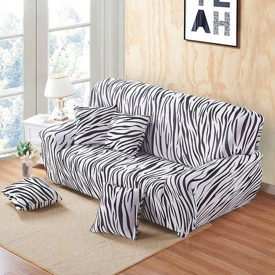 Compare Prices On Striped Sofa Slipcover- Online Shopping/buy Low within Striped Sofa Slipcovers (Image 2 of 15)