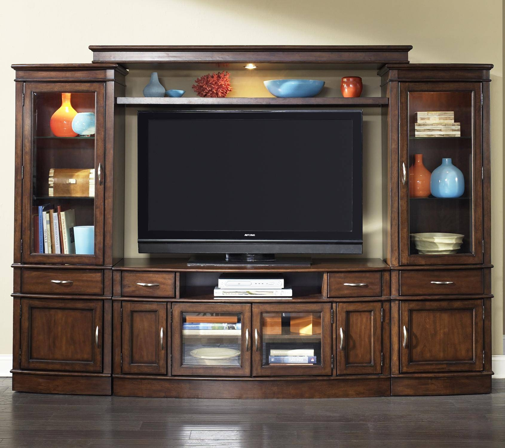 Complete Tv Entertainment Centerliberty Furniture | Wolf And Intended For Tv Entertainment Units (View 3 of 15)