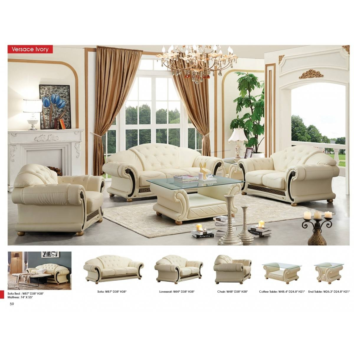 Contemporary & Luxury Furniture; Living Room, Bedroom,la Furniture in Italian Leather Sofas (Image 1 of 15)
