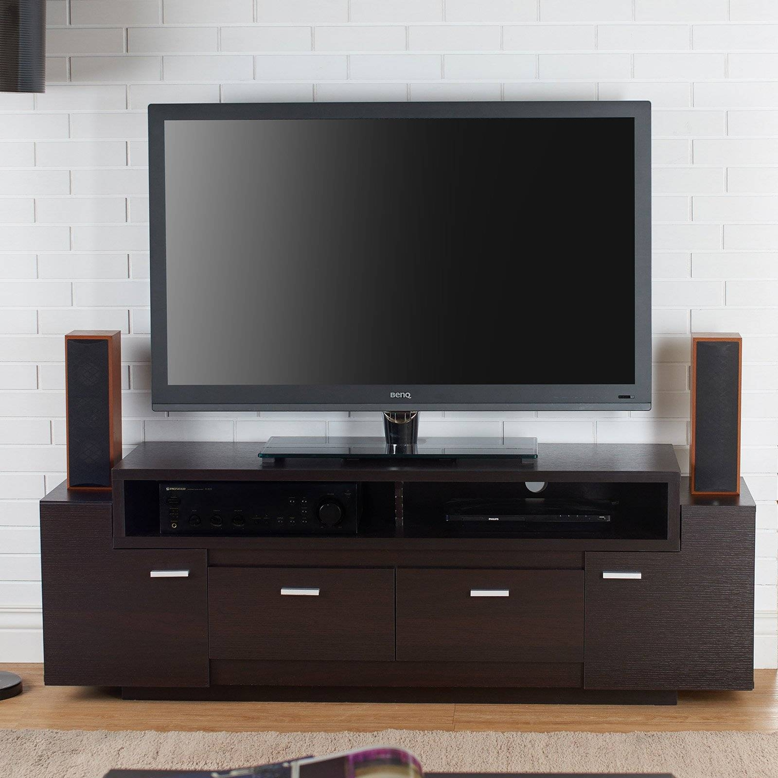 Contemporary & Modern Tv Stands | Hayneedle in Contemporary Corner Tv Stands (Image 2 of 15)