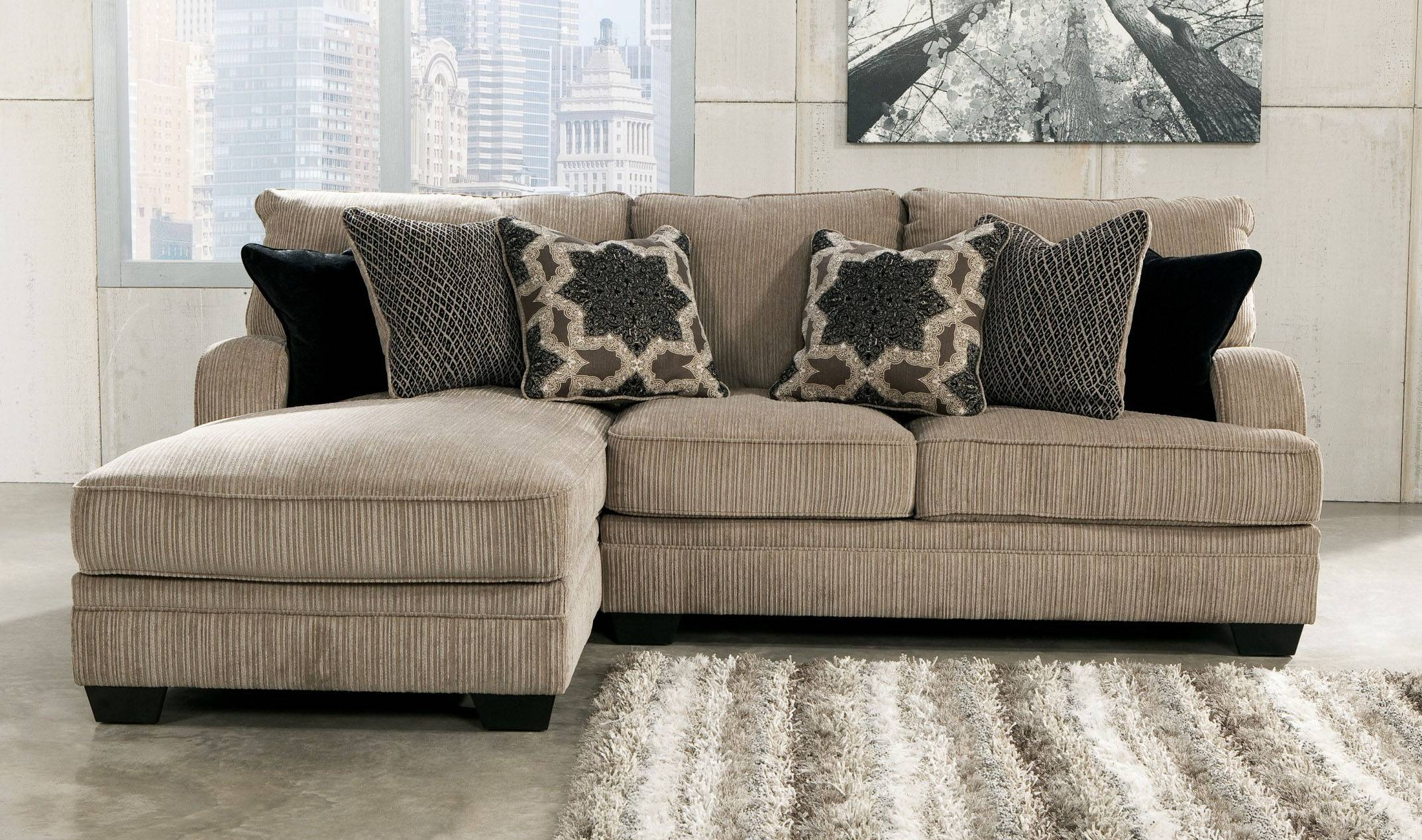 Contemporary Sectional Sofas For Small Spaces Charming Small Scale for Short Sectional Sofas (Image 4 of 15)