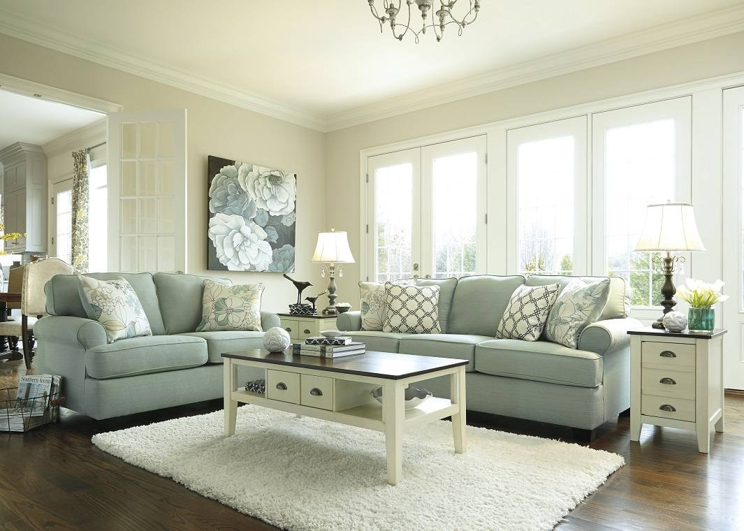 Contemporary Sofa In Seafoam within Seafoam Sofas (Image 5 of 15)