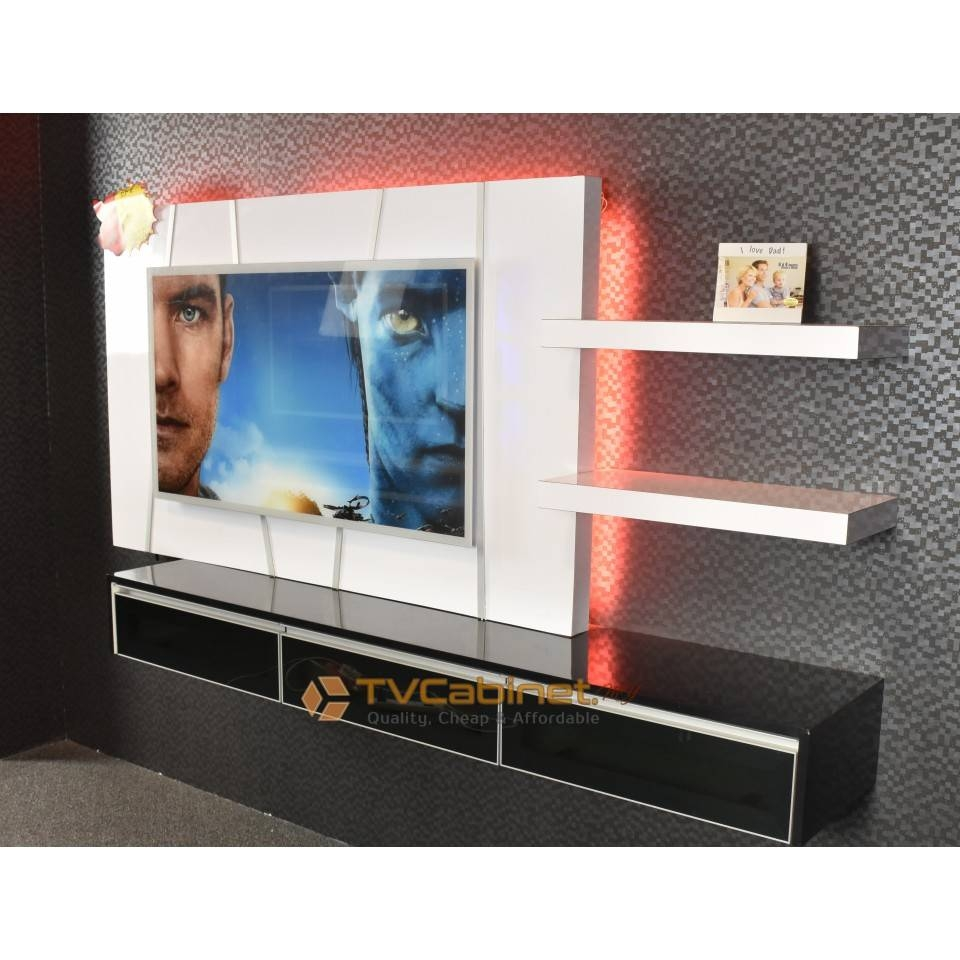 Contemporary Tv Cabinet Design Tc007 In Cabinets For Flat Screens Image