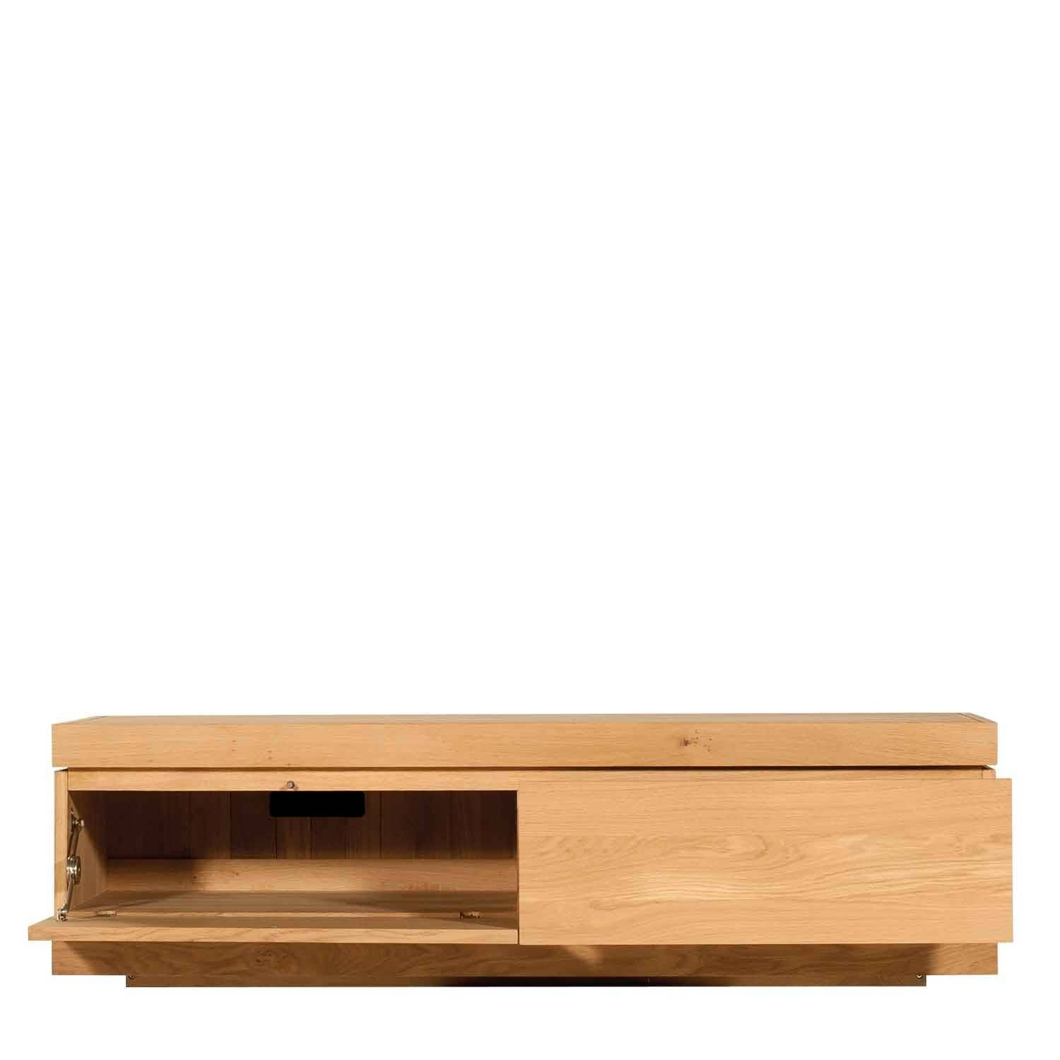 Contemporary Tv Stands & Units, Television Stands, Solid Wood Tv Unit with Contemporary Oak Tv Cabinets (Image 6 of 15)