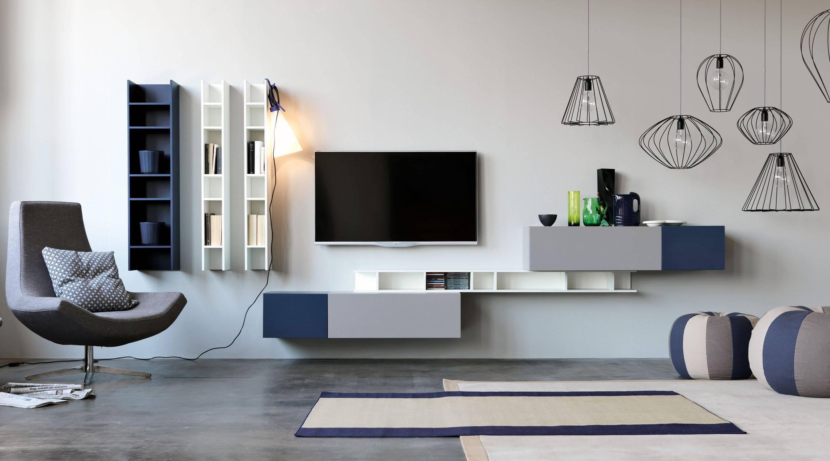 Contemporary Tv Wall Unit / Modular – Citylife 14 – Doimo Cityline Regarding Contemporary Tv Wall Units (View 10 of 15)