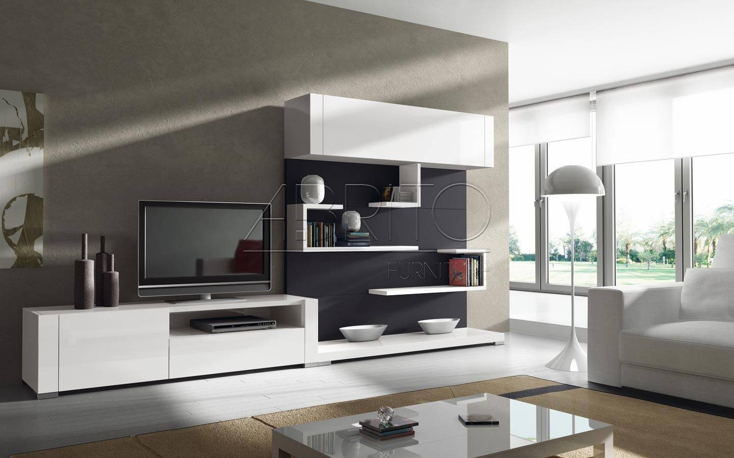 Featured Photo of Contemporary Tv Wall Units