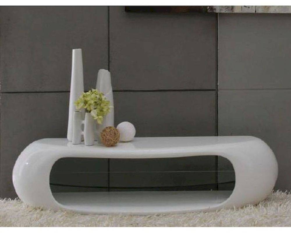 Contemporary White High Gloss Tv Stand 44ent1162 Intended For High Gloss White Tv Stands (View 4 of 15)