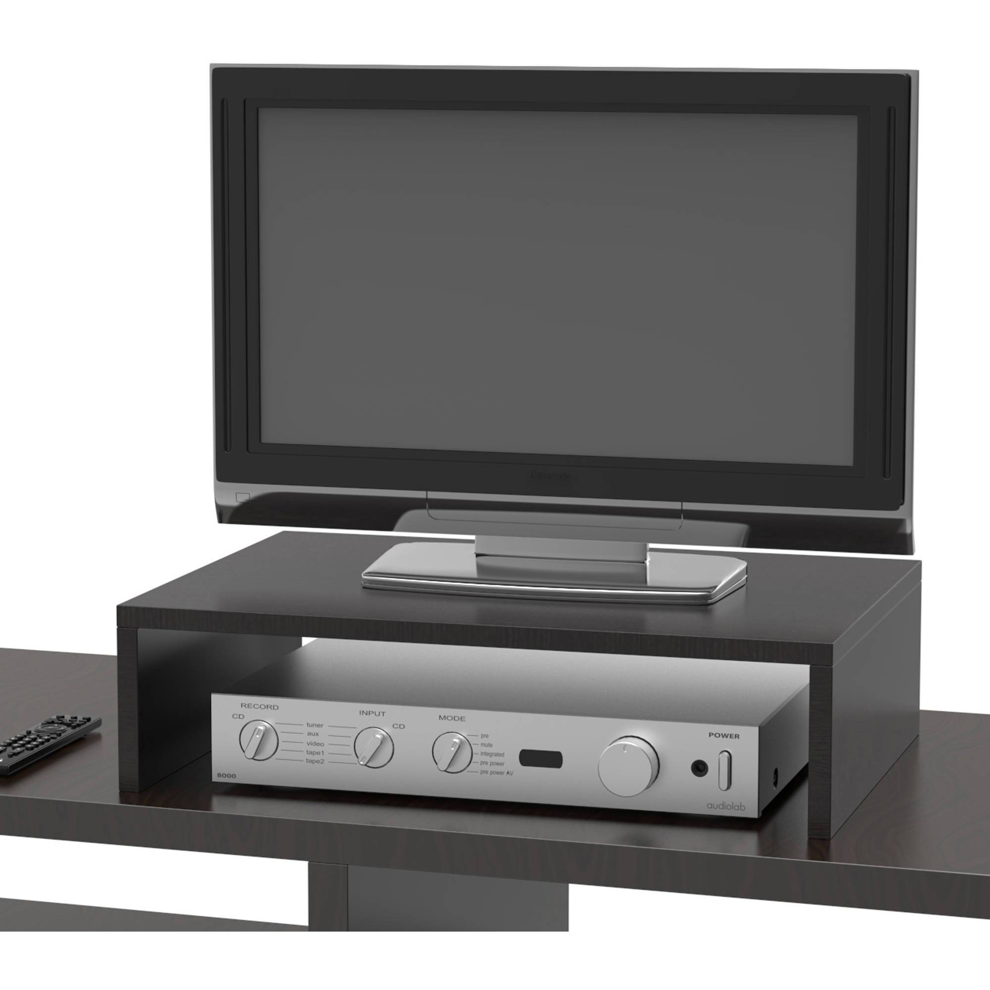 Convenience Concepts Designs2Go Small Monitor Riser, Multiple with regard to Tv Riser Stand (Image 4 of 15)