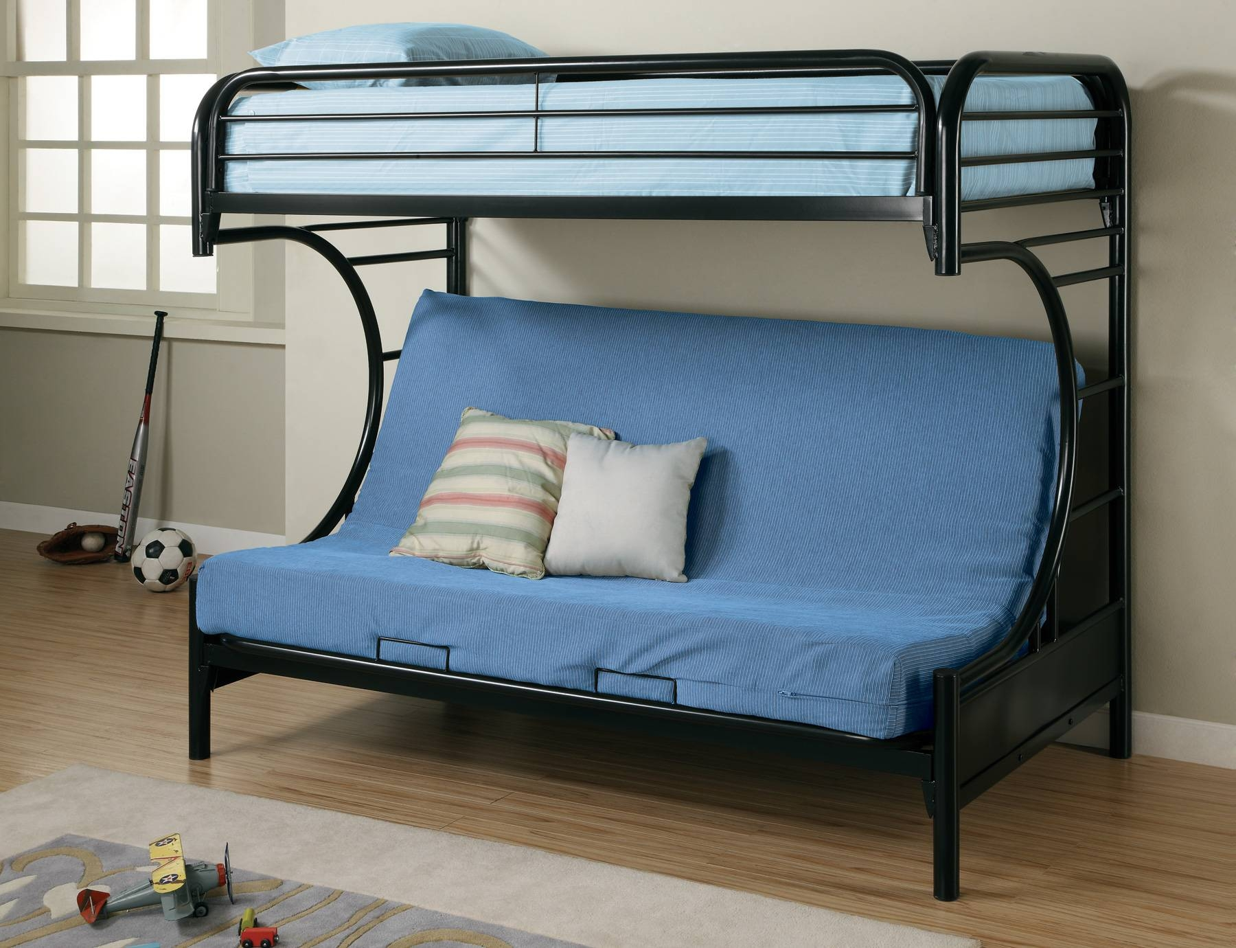 Convert Bunk Bed Couch Beds Style Image Of Blue ~ Idolza with regard to Sofas Converts To Bunk Bed (Image 3 of 15)