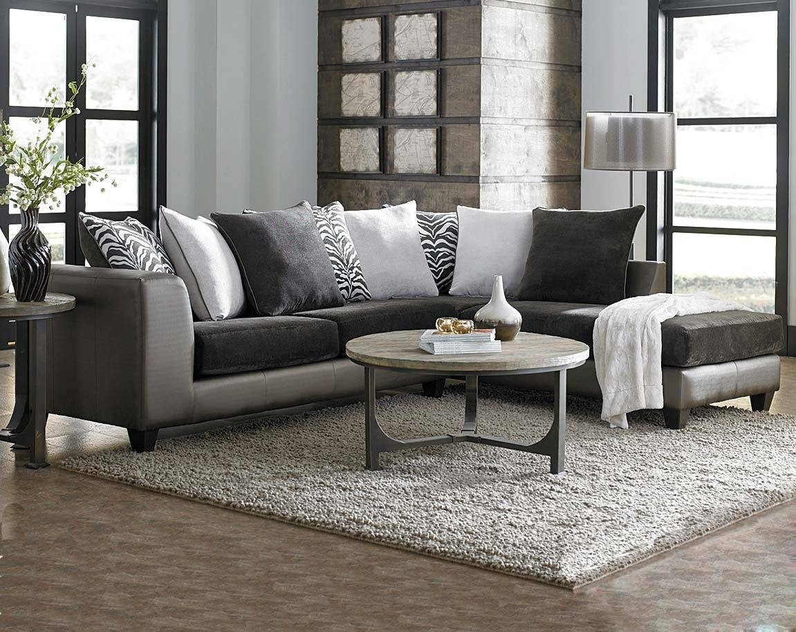 Cool Charcoal Grey Sectional Sofa 84 On Cheap Black Leather intended for Charcoal Gray Sectional Sofas (Image 3 of 15)