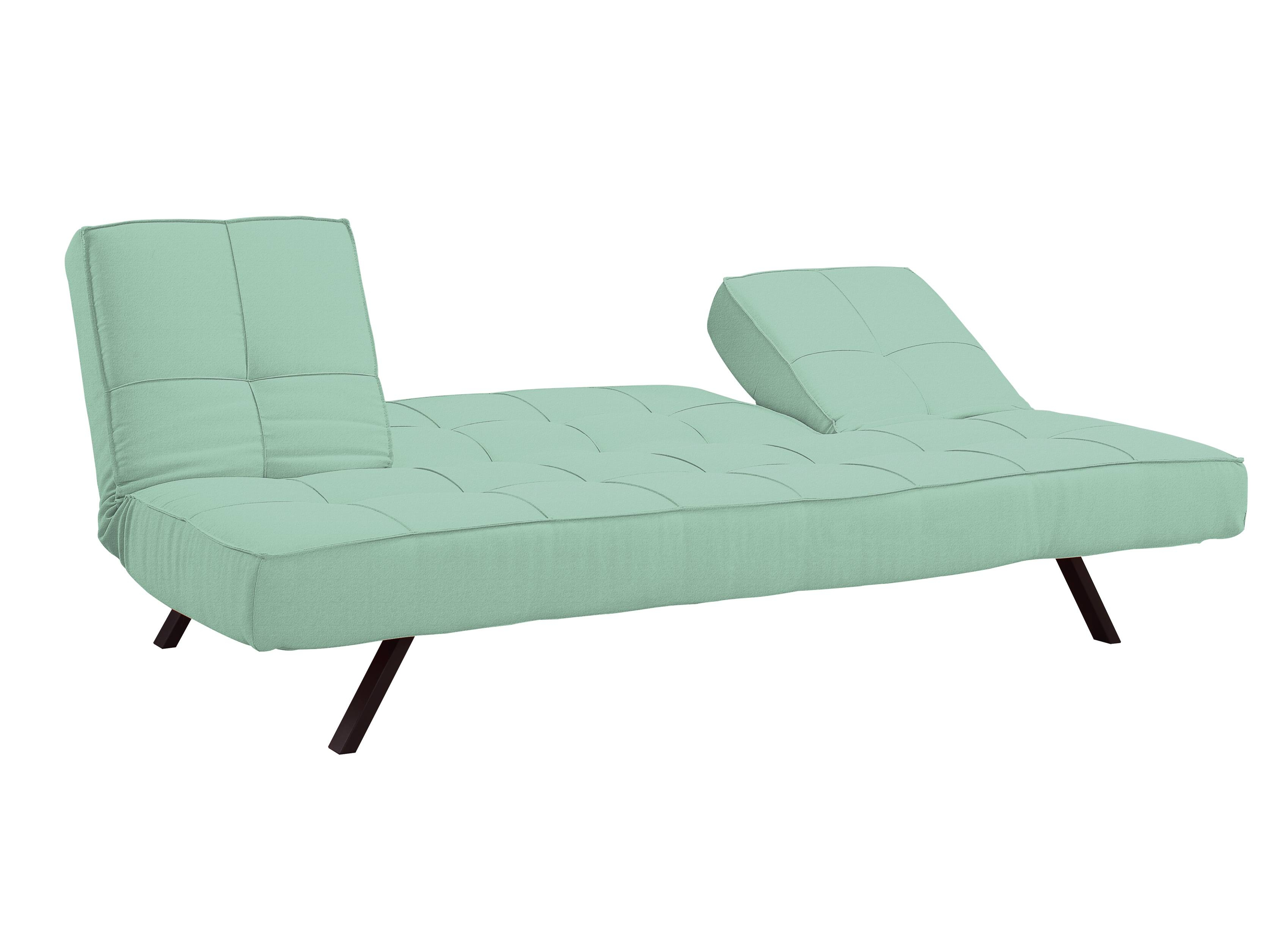 Copa Convertible Sofa Sea Foam Greenserta / Lifestyle pertaining to Seafoam Green Sofas (Image 5 of 15)