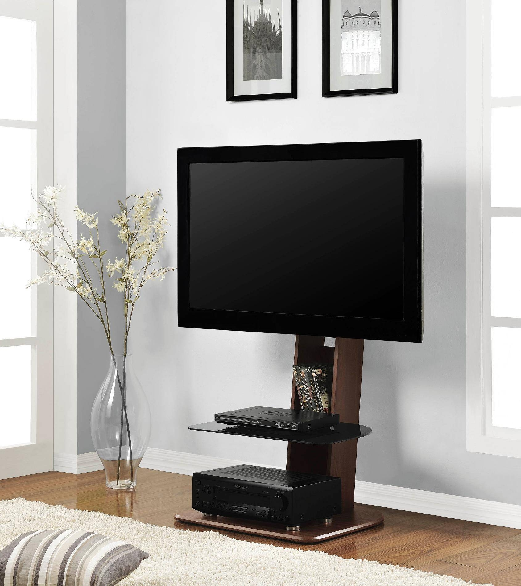 Corner Tv Stand For 60 Inch Flat Screen Tv pertaining to Corner Tv Stands For 60 Inch Flat Screens (Image 2 of 15)