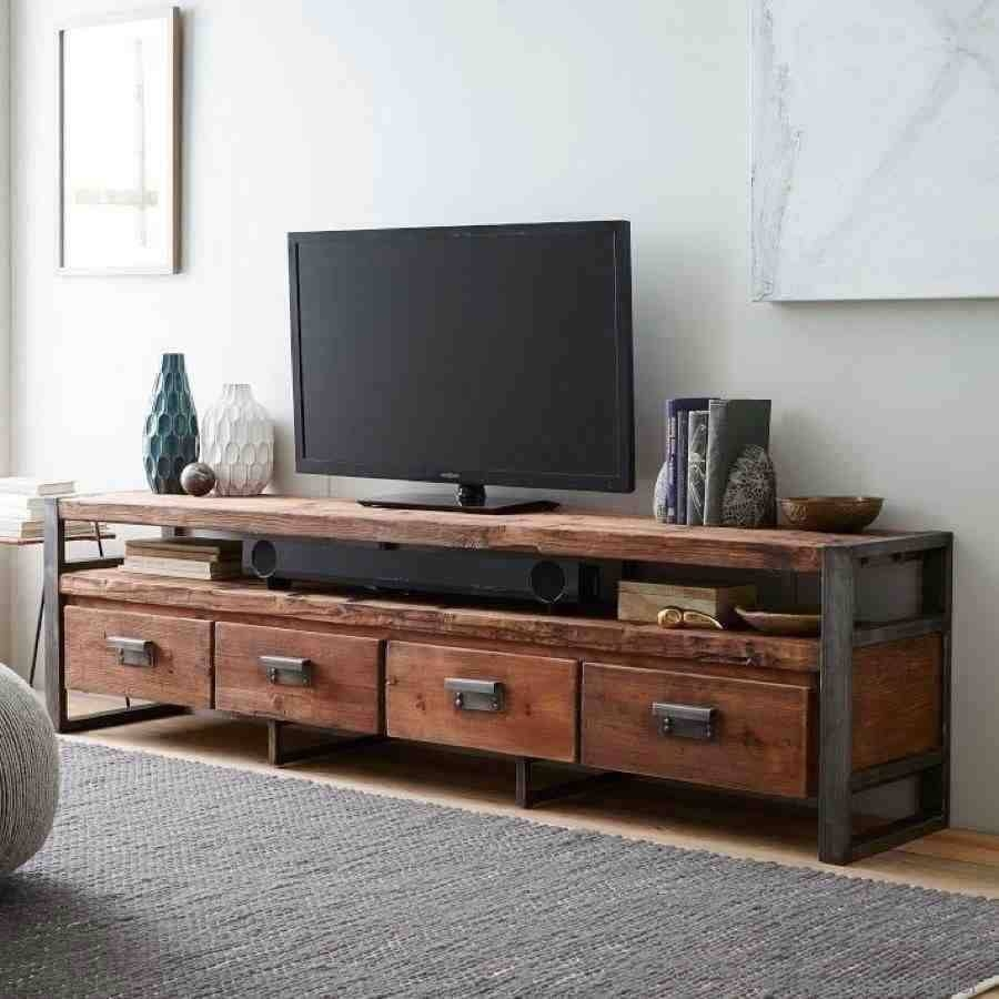 Country Loft Industrial Style Retro Solid Wood Tv Cabinet Audio in Country Style Tv Cabinets (Image 2 of 15)