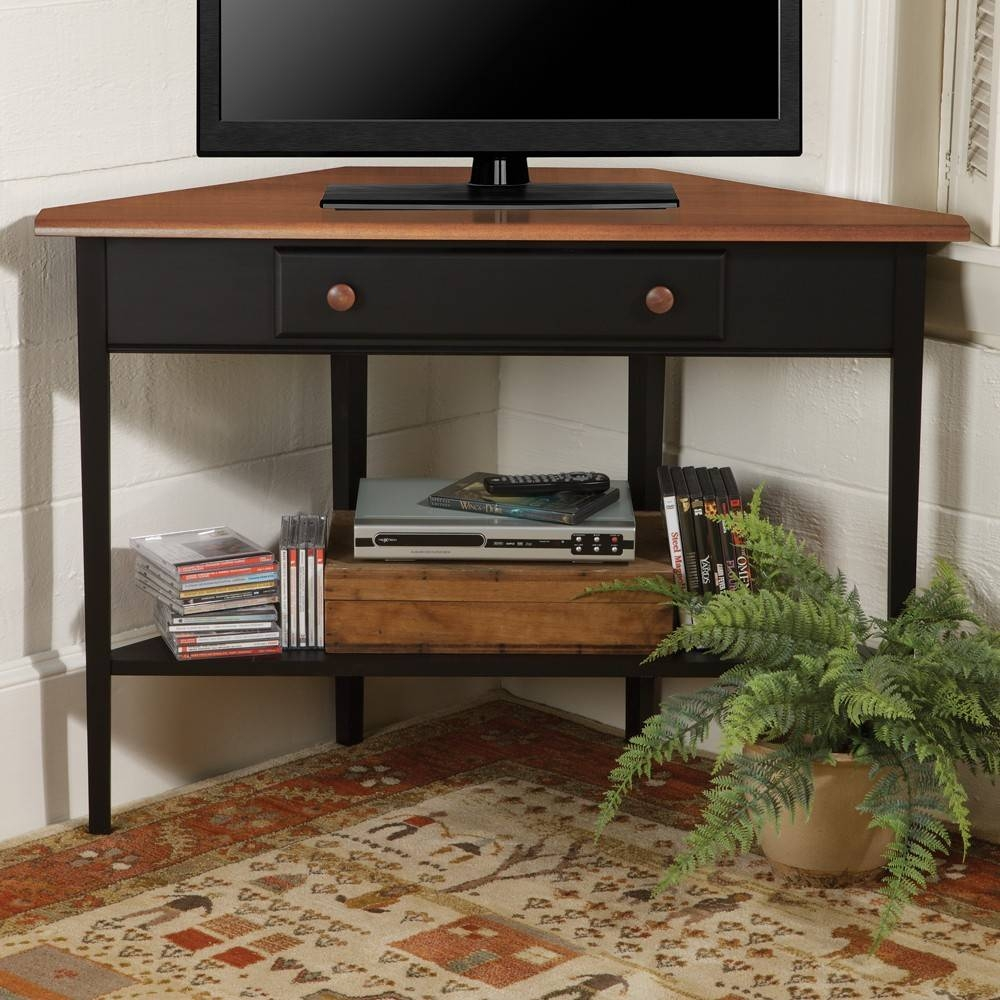 Country Shaker Corner Tv Stand | Sturbridge Yankee Workshop pertaining to Country Style Tv Cabinets (Image 3 of 15)