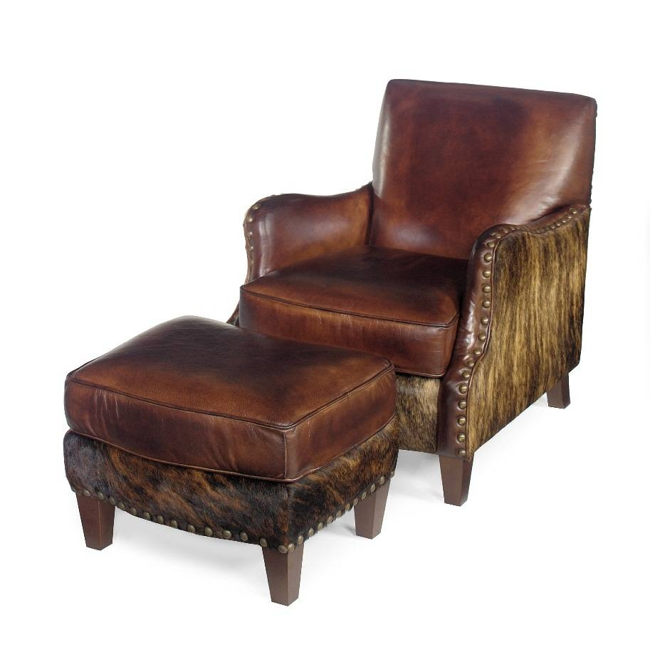 Cowhide Chair | Western Chair | Cowhide Ottoman | Anteks Home Throughout Cowhide Sofas (View 6 of 15)