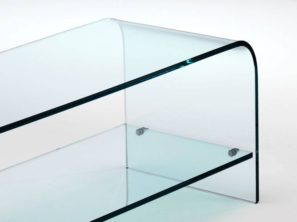 Curved Glass Tv Stand Tango In Glass Tv Cabinets (View 5 of 15)