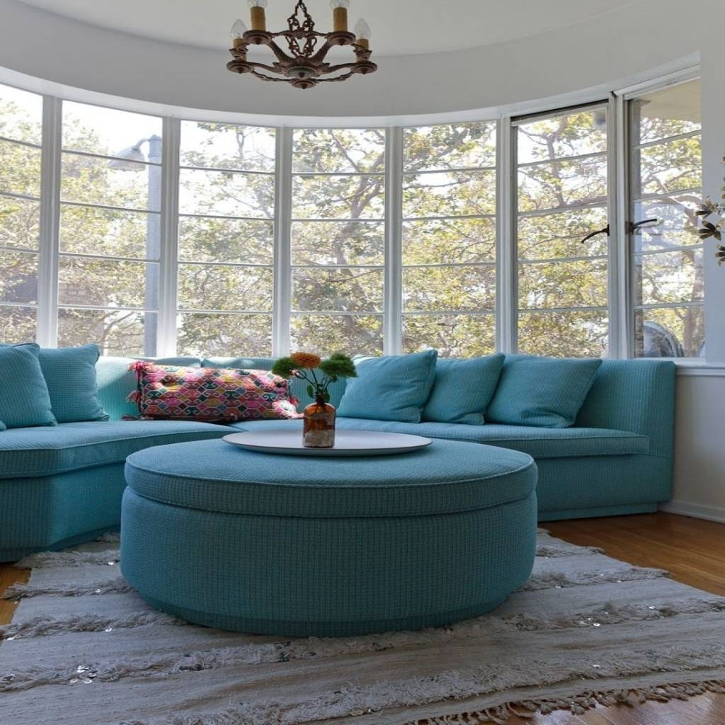 Curved Sofa For Bay Window | Livingroom & Bathroom within Bay Window Sofas (Image 7 of 15)