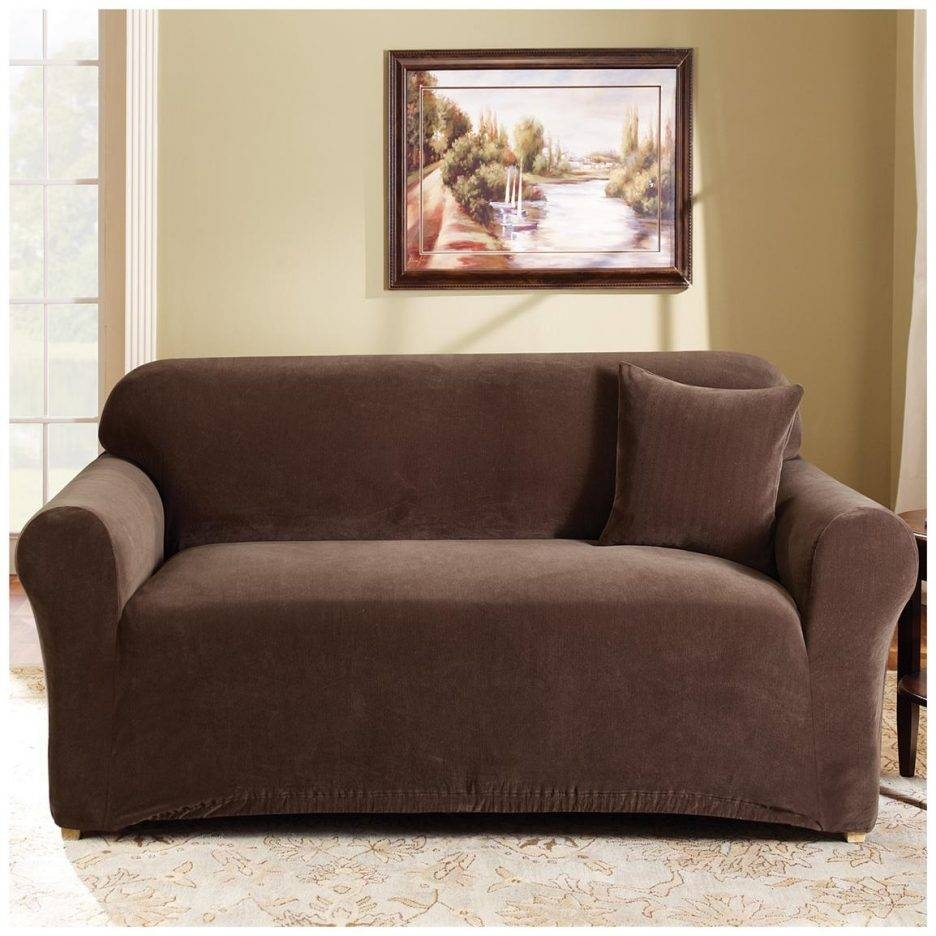 Cushions : 3 Piece T Cushion Chair Slipcover Loveseat Slipcovers 3 for Loveseat Slipcovers T-Cushion (Image 1 of 15)