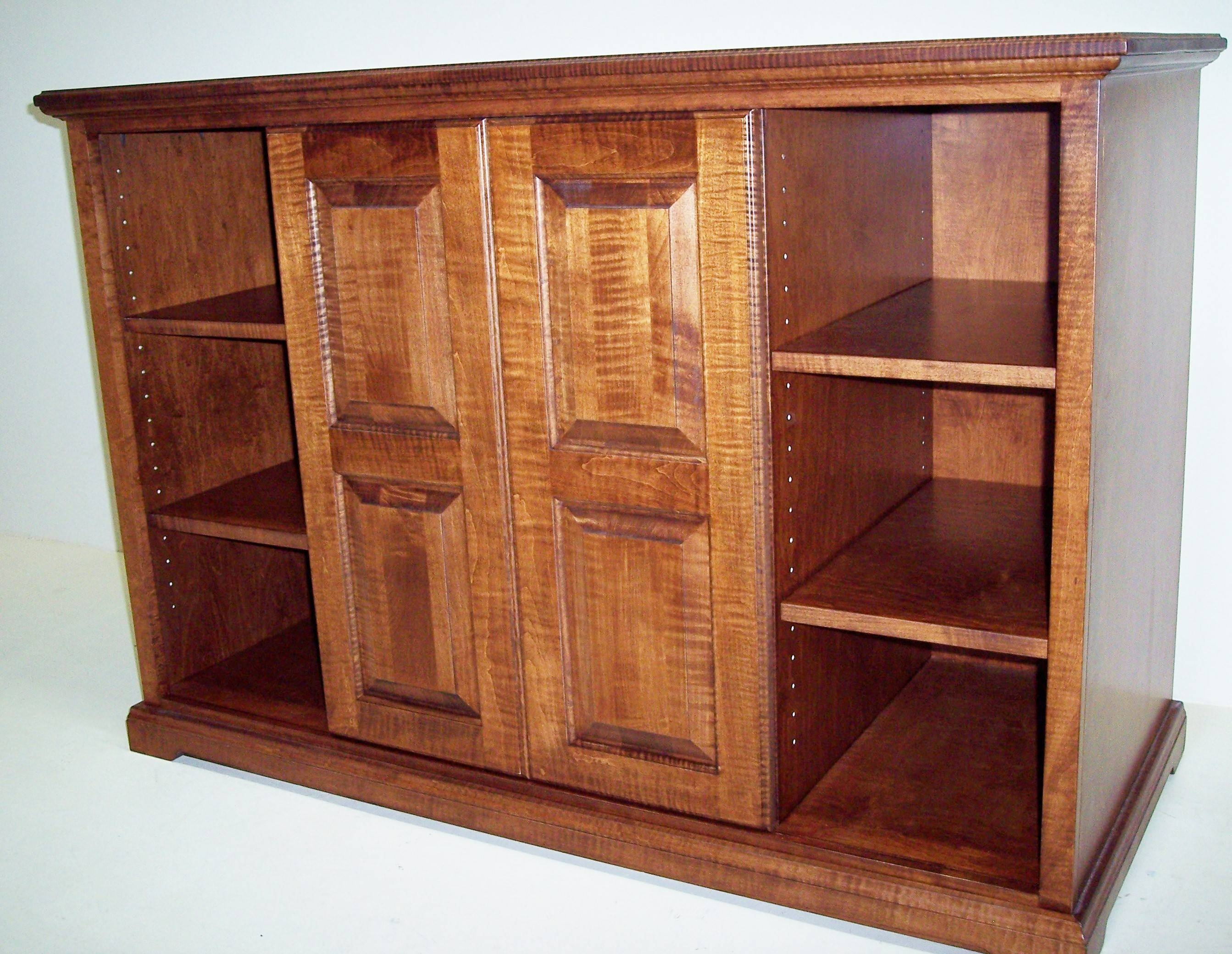 Custom Living Room Furniture And Cabinets | Charles R. Bailey intended for Maple Tv Cabinets (Image 4 of 15)