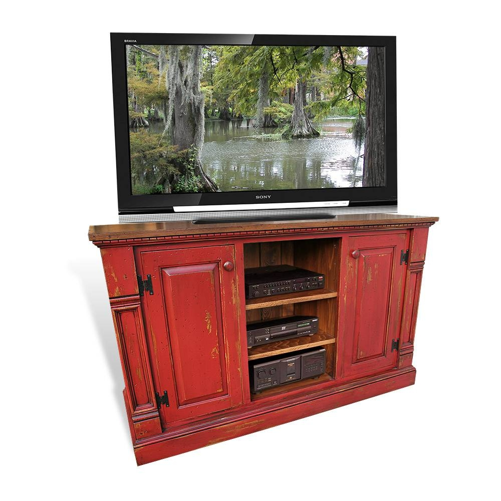 Cypress Tv Stands U0026amp; Entertainment Centers Inside Red Tv Cabinets (Image  ...
