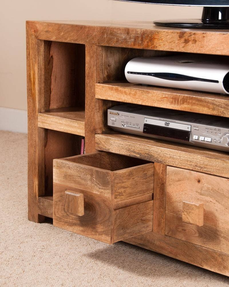 Dakota Light Mango Corner Tv Unit   Casa Bella Furniture Uk Intended For Mango Tv Unit (View 10 of 15)