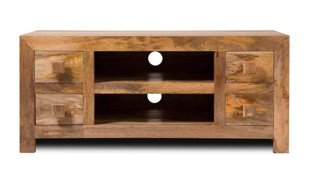 Dakota Light Mango Low Tv Unit | Casa Bella Furniture Uk Regarding Mango Tv Units (View 2 of 15)