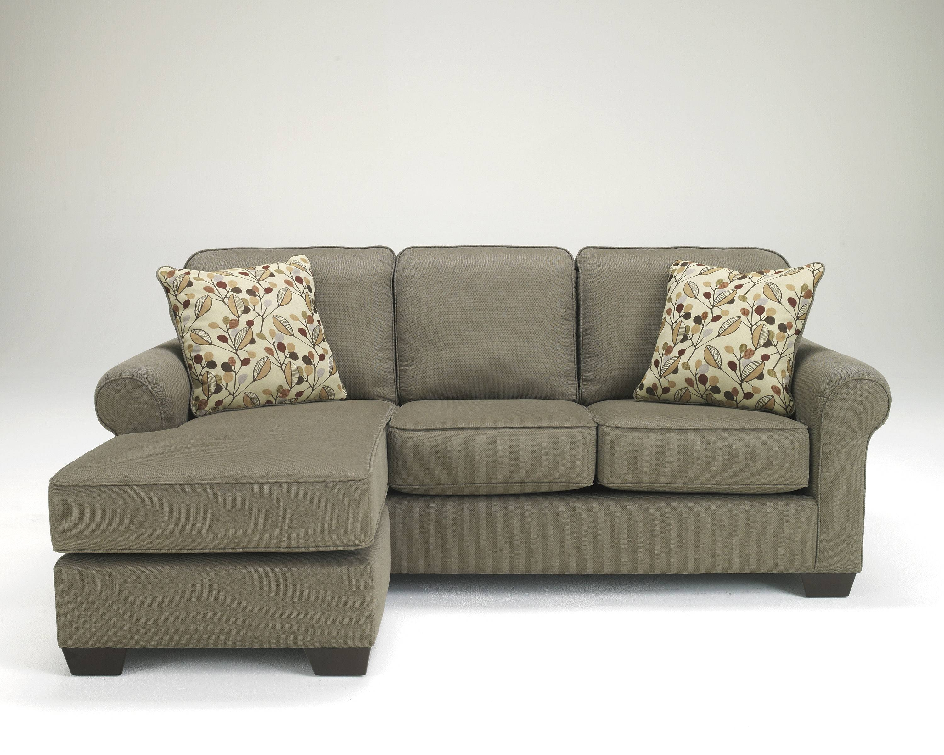 Danely Dusk Polyester Sofa Chaise Sectional | Living Rooms | The within Chaise Sofas (Image 6 of 15)