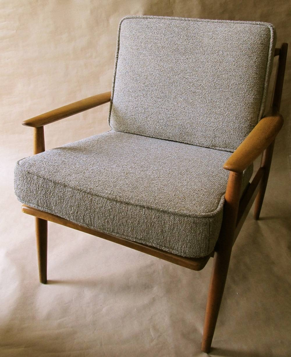 Danish Modern Lounge Chair | Modern Chair Restoration pertaining to Reupholster Sofas Cushions (Image 4 of 15)
