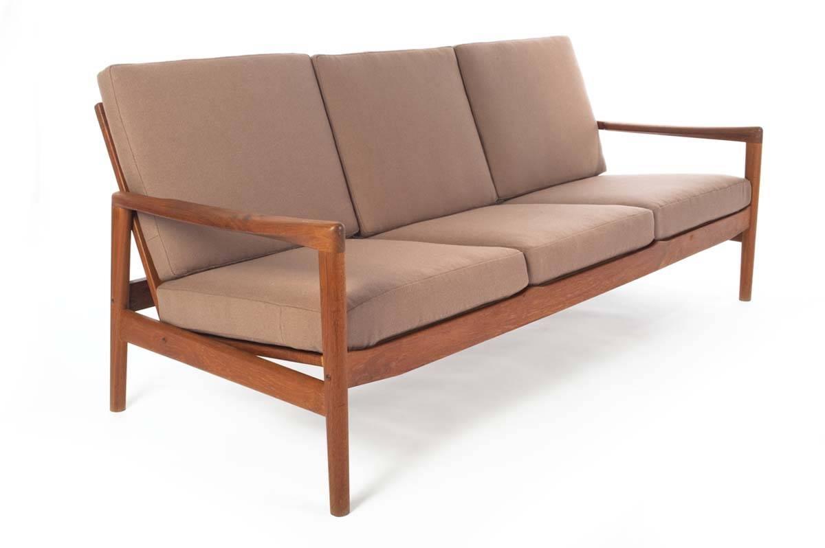 Danish Modern Teak Sofa - Danish Teak Classics regarding Danish Modern Sofas (Image 6 of 15)
