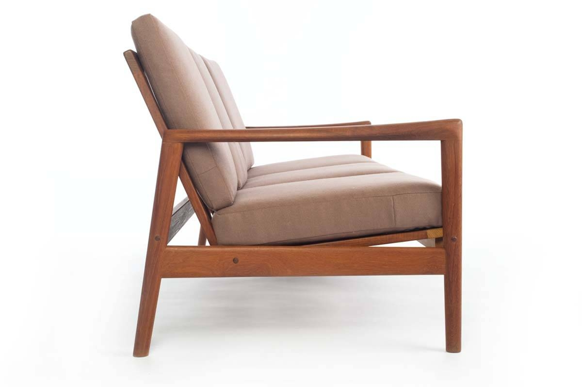 Danish Modern Teak Sofa - Danish Teak Classics throughout Modern Danish Sofas (Image 5 of 15)
