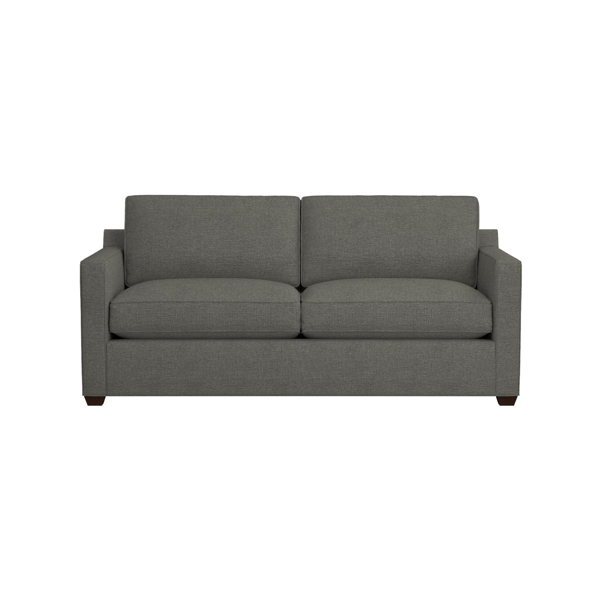 Davis Down Blend Sofa | Crate And Barrel regarding Crate And Barrel Sofa Sleepers (Image 7 of 15)