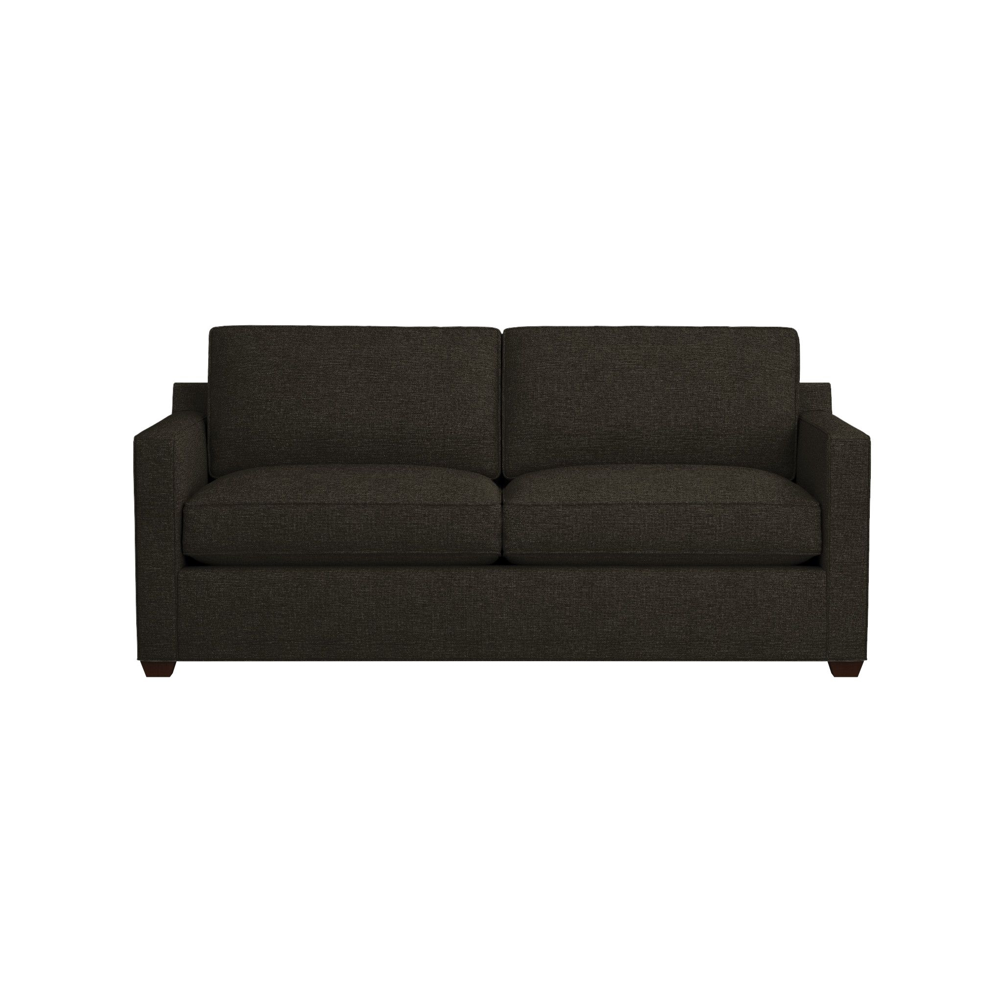 Davis Queen Sleeper Sofa | Crate And Barrel regarding Crate And Barrel Sleeper Sofas (Image 8 of 15)