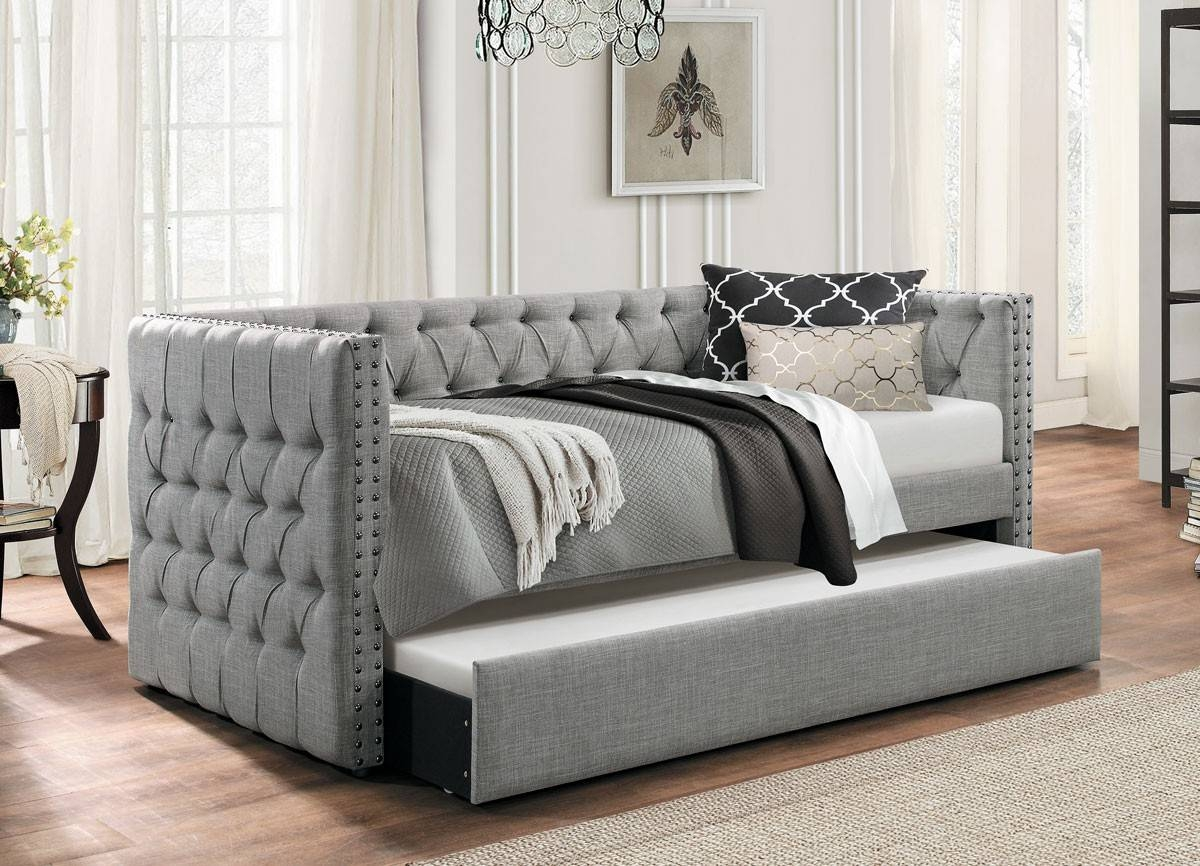 Day Bed With Trundle Bed inside Sofa Beds With Trundle (Image 4 of 15)