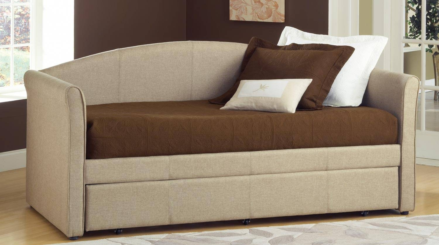 Daybed With Trundles | Home Designlarizza with Sofa Beds With Trundle (Image 5 of 15)