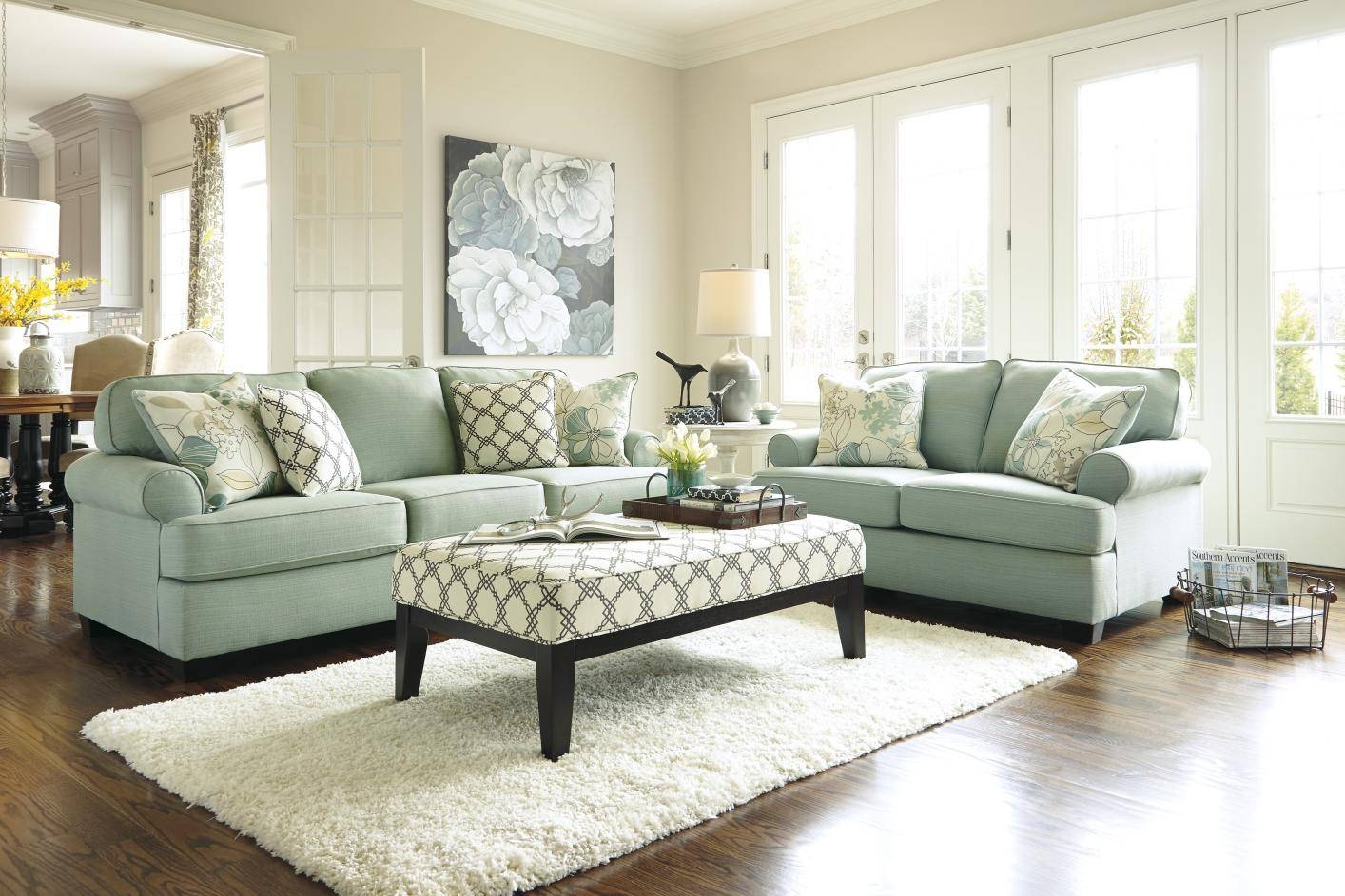 Featured Photo of Seafoam Green Couches