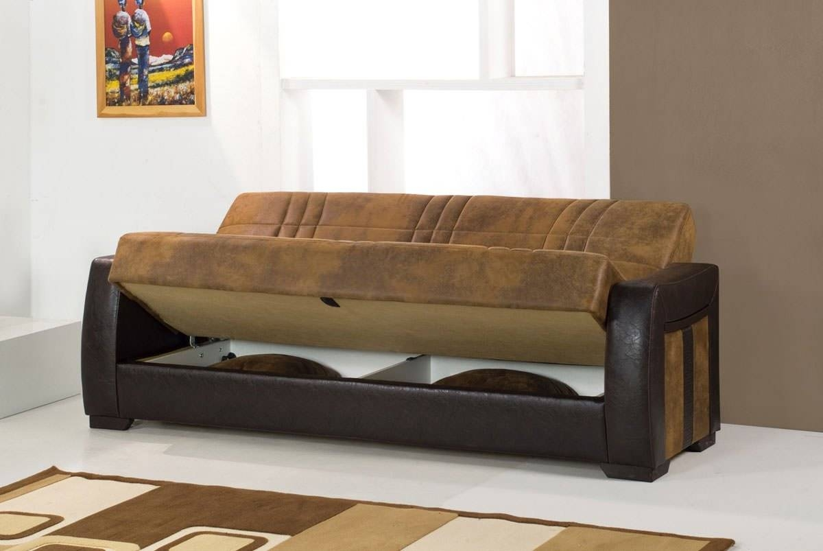 Deborah Ares Suede Rusty Micro Suede Sofa Bedkilim with Microsuede Sofa Beds (Image 3 of 15)