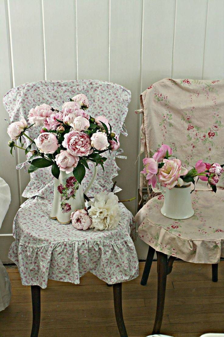 Decorating: Fabric For Slipcovers | Shabby Chic Slipcovers Throughout Shabby Chic Slipcovers (View 2 of 15)