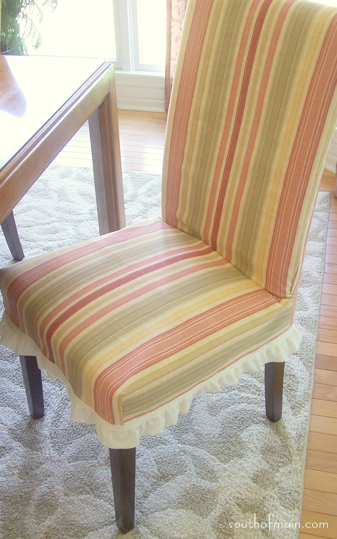 Decorating: Parsons Chair Slipcovers | Parsons Chairs | Pottery for Pottery Barn Chair Slipcovers (Image 6 of 15)