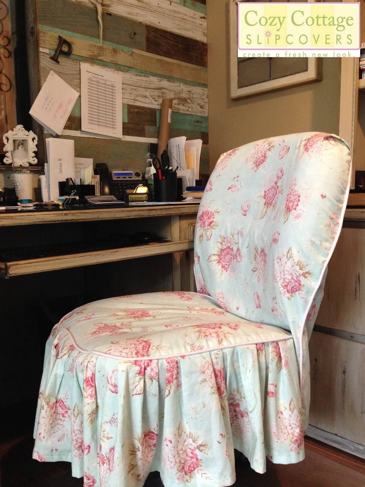 Decorating: Shabby Chic Slipcovers | Shabby Chic Sofa Slipcover throughout Shabby Slipcovers (Image 4 of 15)