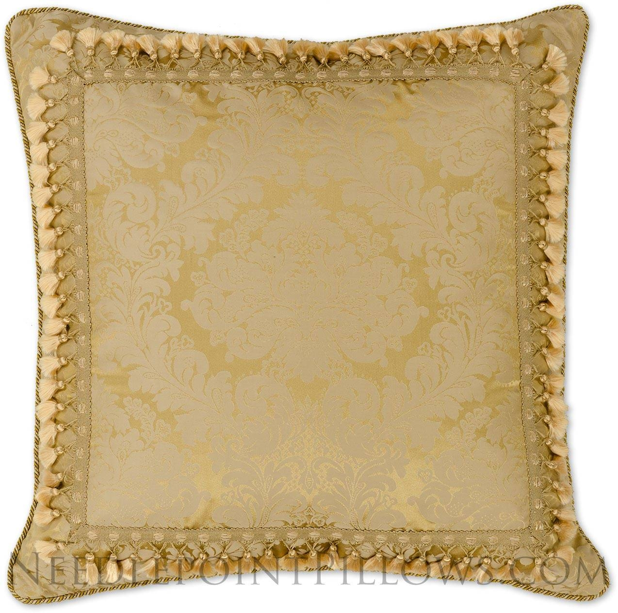 Decorative Gold Throw Pillows : Decorative Gold Throw Pillows with regard to Gold Sofa Pillows (Image 2 of 15)