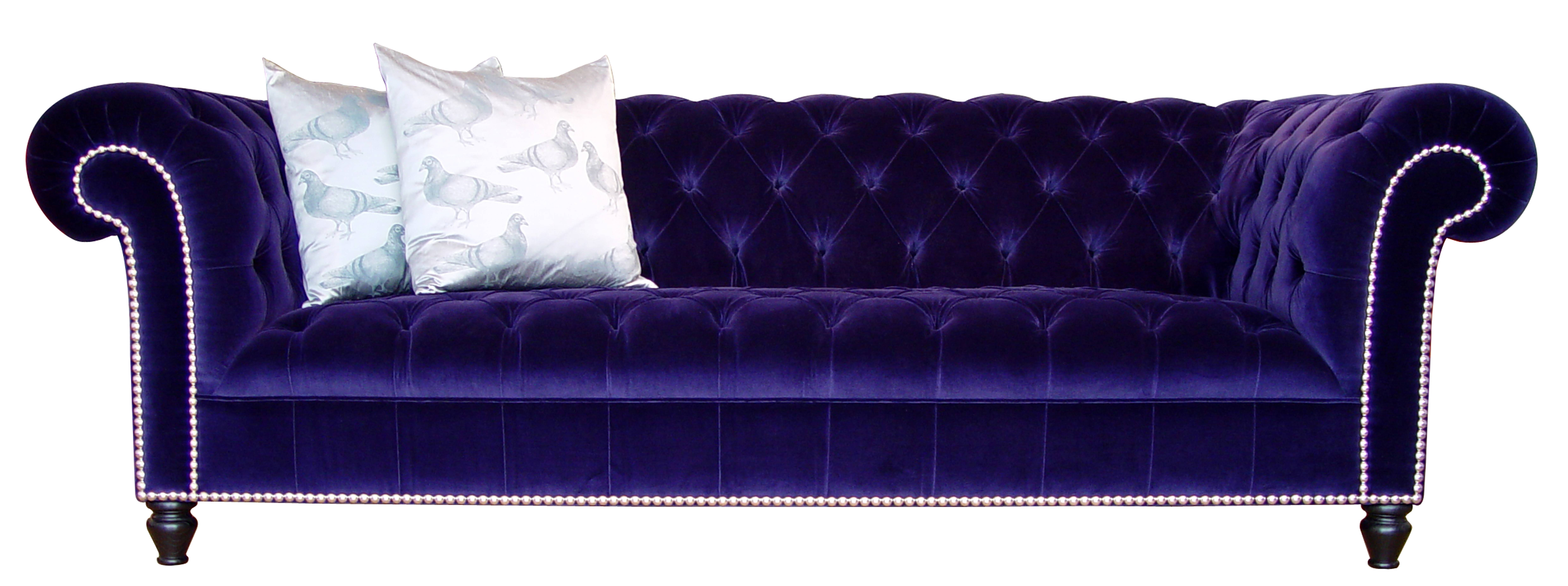 Design Classics #20: The Chesterfield Sofa - Mad About The House within Purple Chesterfield Sofas (Image 4 of 15)