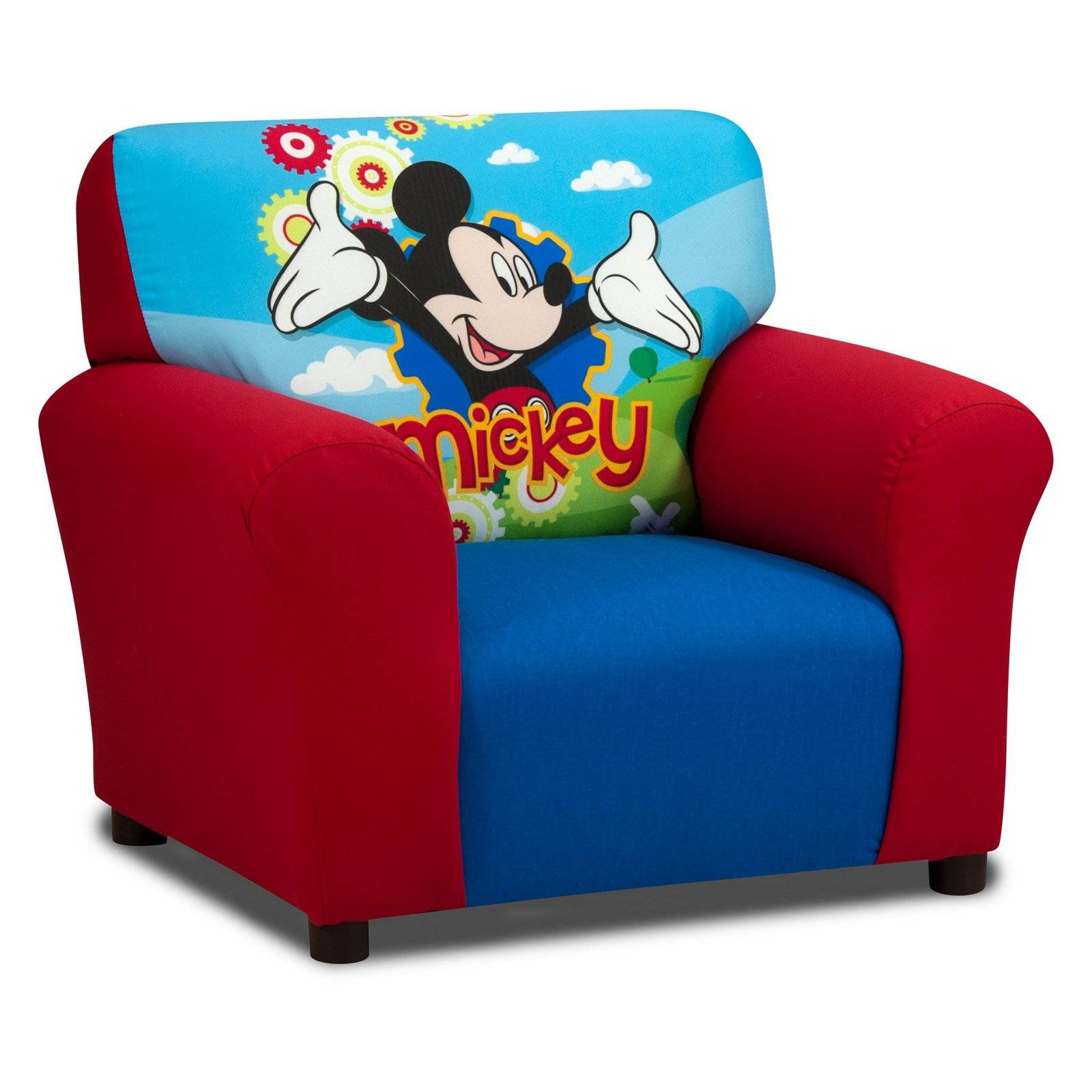 "Disney Mickey Mouse Clubhouse ""cuddly Cuties"" Skirted Rocker throughout Mickey Mouse Clubhouse Couches (Image 1 of 15)"