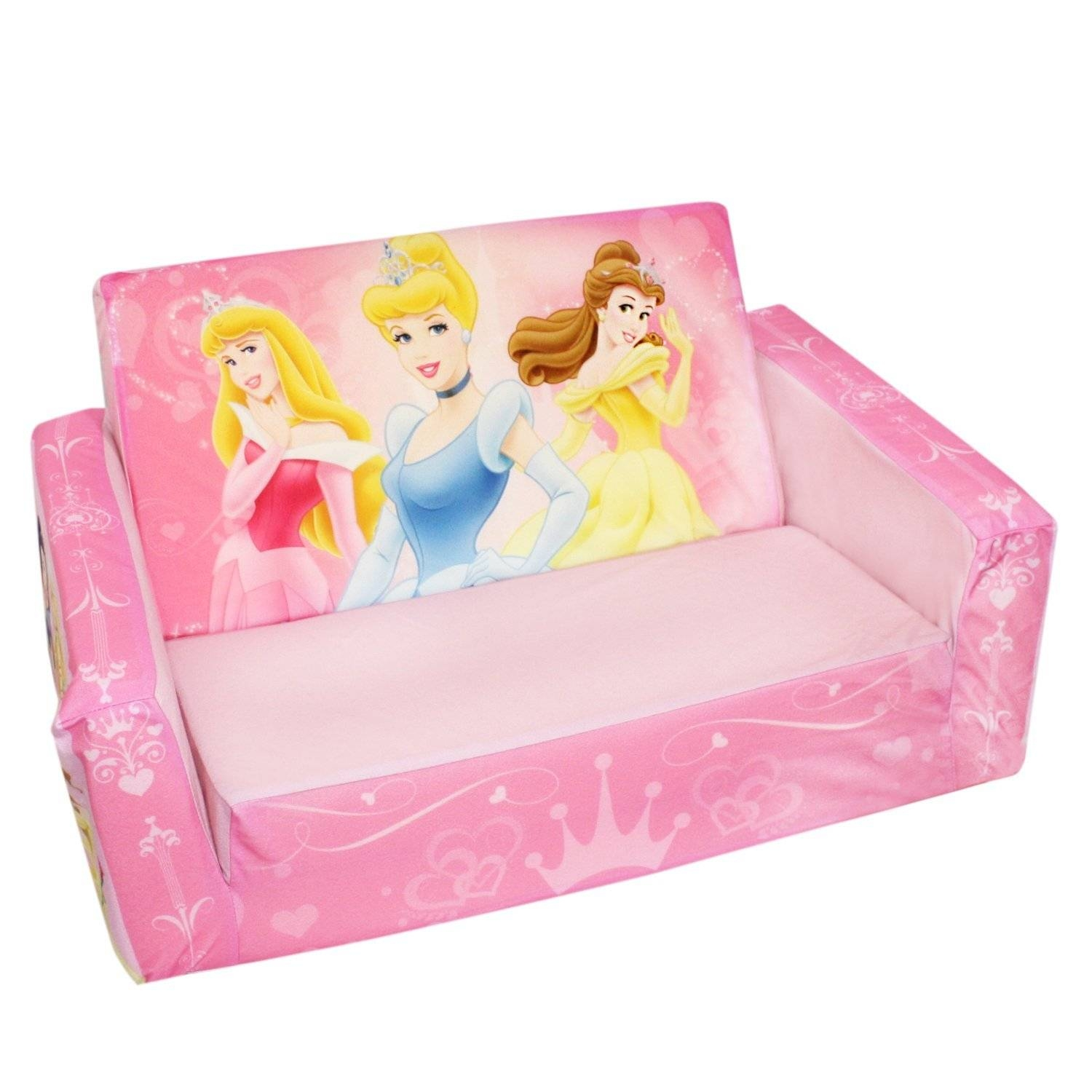 Disney Princess Toddler Couch Bed : Toddler Couch Bed, Charming throughout Disney Princess Sofas (Image 6 of 15)